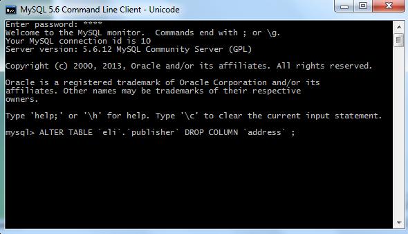 Sql 3 tablas instrucciones create alter drop con mysql workbench - Alter table drop column sql ...